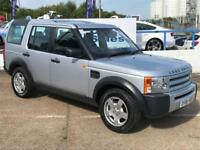 LAND ROVER DISCOVERY 2.7 3 TDV6 7 SEATS 5d 188 BHP A GREAT EXAMPLE INSIDE AND OUT (silver) 2006