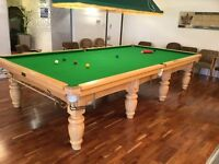 Snooker Table - Standfast Full Size Snooker Table
