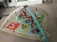 Skip Hop Alphabet Zoo Activity Gym Play Mat