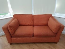 Marks & Spencer Sofa - large fabric sofa. Very good condition