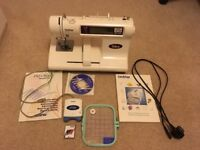 Brother PE180D Disney embroidery machine + PED Basic, excellent condition