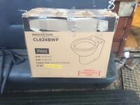 CL624BWP toilet pan