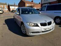 Bmw 320d black leather automatic low mileage