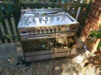 Baumatic duel fuel range cooker