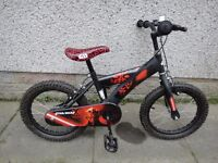 Raleigh Invader,Magna imposter, Star wars bike suit age 5 to 7 years 16 inch wheels £35 EACH