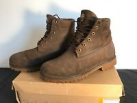 """Timberland 6""""inch woolrich roll top nebuk N/O"""