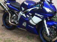 Yamaha r6 5eb 2000