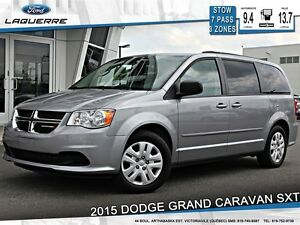 2015 Dodge Grand Caravan SXT **STOW'N'GO*3 ZONES**