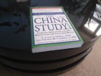 The China Study By T. COLIN CAMPBELL, PHD AND THOMAS M. CAMPBELL 11, MD - Like new. COLLECTION ONLY