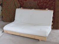 IKEA futon with mattress.