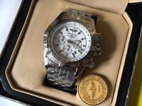 New Swiss Brietling Chronomat Chronograph Watch