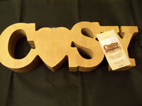 Tealight Holder Solid Wood From Next New WithTags