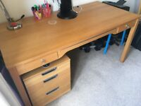 good quality desk and drawer