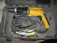 Dewalt 110v hammer drill D21805 Lx 770w