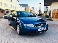 2003 Audi A4 1.8T Sport 190 BHP 6 Speed 85k miles FSH 1 Year MOT