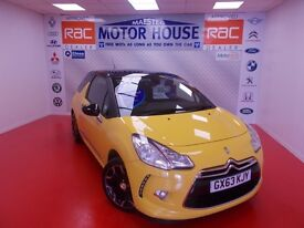Citroen DS3 E-HDI DSTYLE PLUS (£0.00 ROAD TAX) FREE MOT'S AS LONG AS YOU OWN THE CAR!! 2013