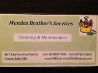 We clean for you *FREE ESTIMATES*