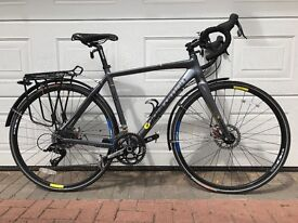 Boardman Team CX Cyclocross Road Bike Medium 53cm Upgraded BB7 Brakes and pannier rack
