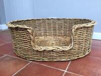 Dog Basket large Wicker