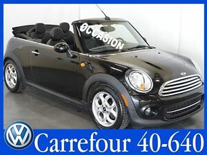 2013 MINI Cooper Convertible Manuelle Impeccable !!!
