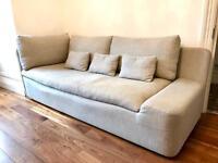 Habitat grey 3 seater sofa