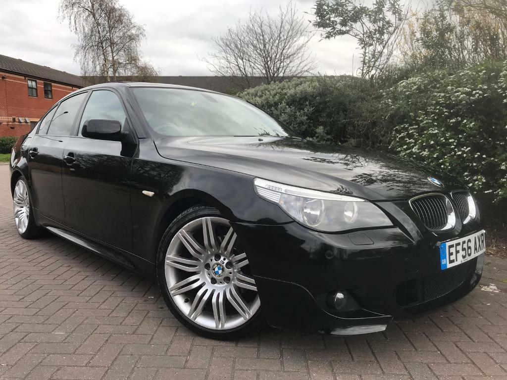 Bmw 5 Series 525d M Sport Carbon Black Rare Sunroof Spider Alloys Service History 1 Former Keeper In Leeds West Yorkshire Gumtree