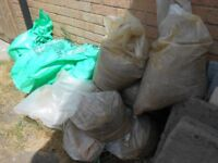 large lot, Soft Pit (Builders) Sand, 25Kg OPC and Plastisiser, collect BRISTOL
