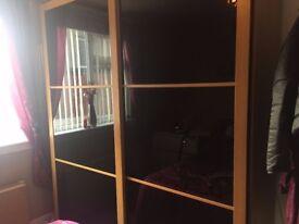 Ikea Pax wardrobe - sliding doors