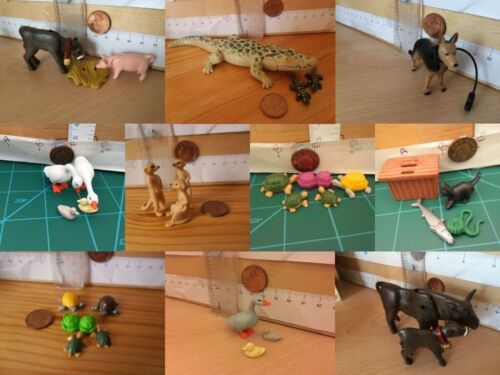 Playmobil Small Spare Animals Choice Dogs Cats Pigs sheep goat turtles birds