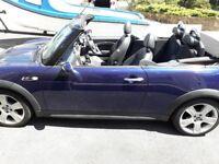 Mini cooper S convertible 1.6L petrol