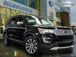 2016 Ford Explorer Platinum 6 PASS  DOUBLE TURBO