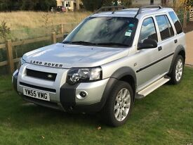 REDUCED Landrover Freelander 2005, Silver, Automatic, DAB/Bluetooth, Electric Sunroof, Heated seats