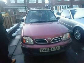 2001 Nissan micra s automatic