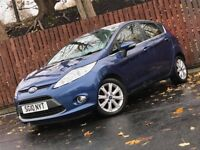 **LOW MILEAGE** FORD FIESTA 1.6 TDCI ZETEC 5 DOOR LONG MOT