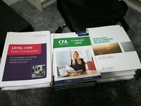 CFA Level 1 Official Books, Schweser Books & Mock Exam & Fitch Learning: JOBLOT or can sell seperate