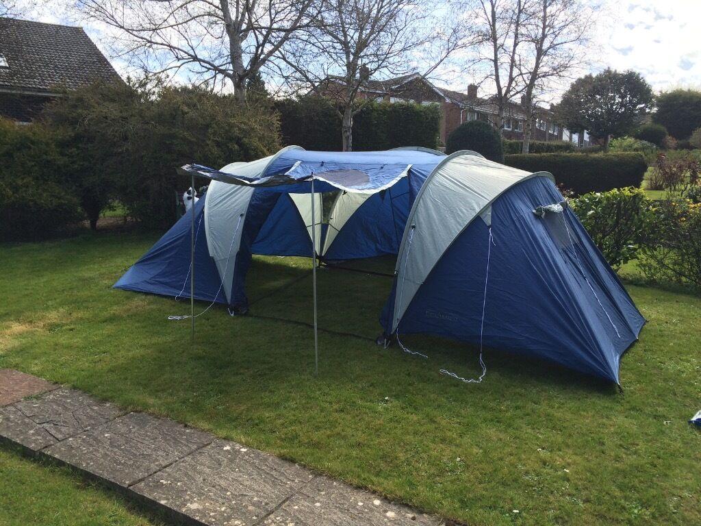 4 man 2 bedroom tent
