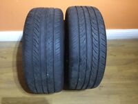 2X INGENS A1 Maxtrek tyres 245/50/18 for BMW