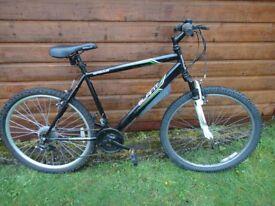 "Apollo Slant bike, 26"" wheels, 18 gears, 20"" frame, front suspension"