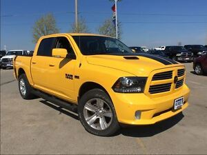 2016 Ram 1500 SPORT**STINGER YELLOW SPECIAL EDITION**