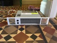 Smith's Space Saver Plinth Mounted Hydronic Fan Convector. 2 in good working condition