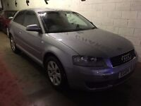 Audi A3 1.6 FSI SE 3dr £995 p/x welcome HPI CLEAR, NEW MOT, FINANCE AVAILABLE
