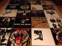 Collection of vinyl - 20 records, used condition
