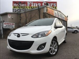 2011 Mazda MAZDA2 GS  No accidents  One Owner  Pearl White