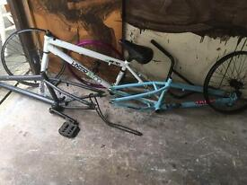 BMX bike frames etc