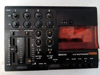 Fostex X15 Four Track Cassette recorder with mixing.