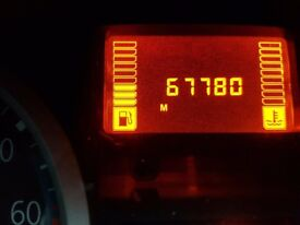 Renault Clio blue 2005 1.2cc new m.o.t. liw mileage ,few scratches,
