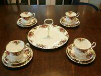 Royal Albert China Pieces .