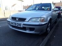 Honda Civic 1.4is /90hp Automatic!! Lady owner !! Good Car for Work !! Service History !!
