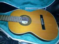 Vicente Sanchis model 8 classical guitar (custom case included)