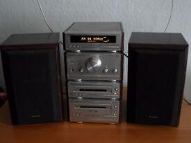 Technics HiFi Amp CD Player Radio Cassette Deck